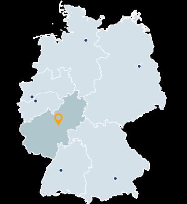 Saarland, Hessen, Rheinland-Pfalz