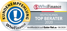 WhoFinance Deutschlands Top Berater 2020