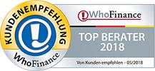 WhoFinance Top Berater 2018